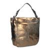 Zlatá kožená kabelka gabor-bags, zlatá, 966-8001 - 13