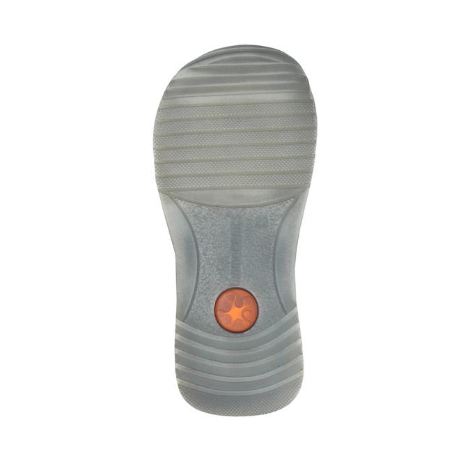 Dětská kožená obuv na suché zipy biomecanics, modrá, 114-9001 - 26