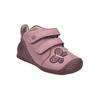 Dívčí kožená obuv na suché zipy biomecanics, růžová, 124-5010 - 13