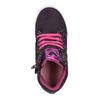 Kožené kotníčkové tenisky se třpytkami, fialová, 226-9009 - 19