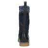 Dětská zimní obuv vysoká mini-b, modrá, 491-9650 - 17