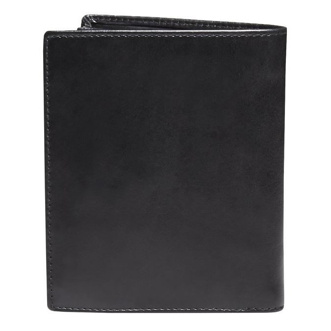 Kožená pánská peněženka bata, černá, 944-6121 - 26