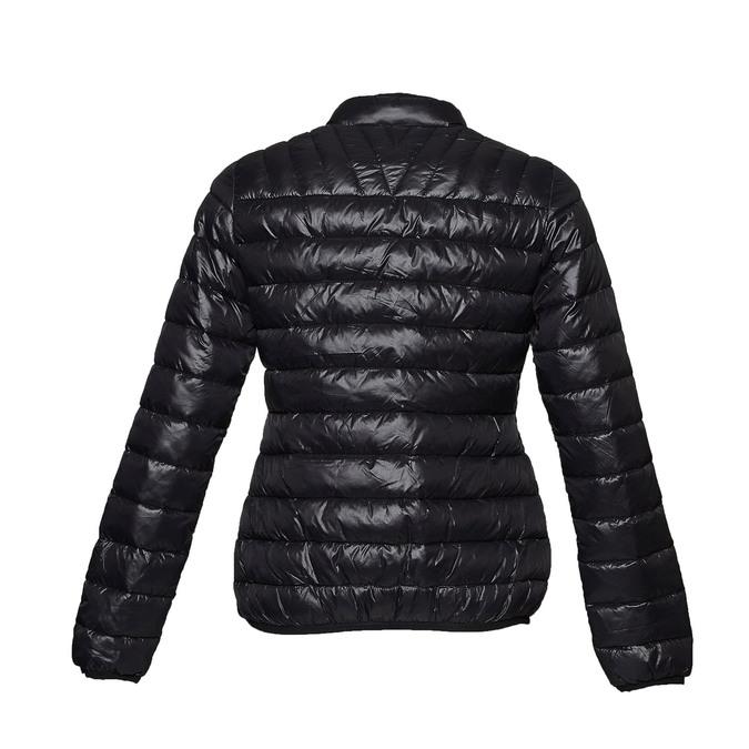 Černá bunda s prošíváním bata, černá, 979-6637 - 26