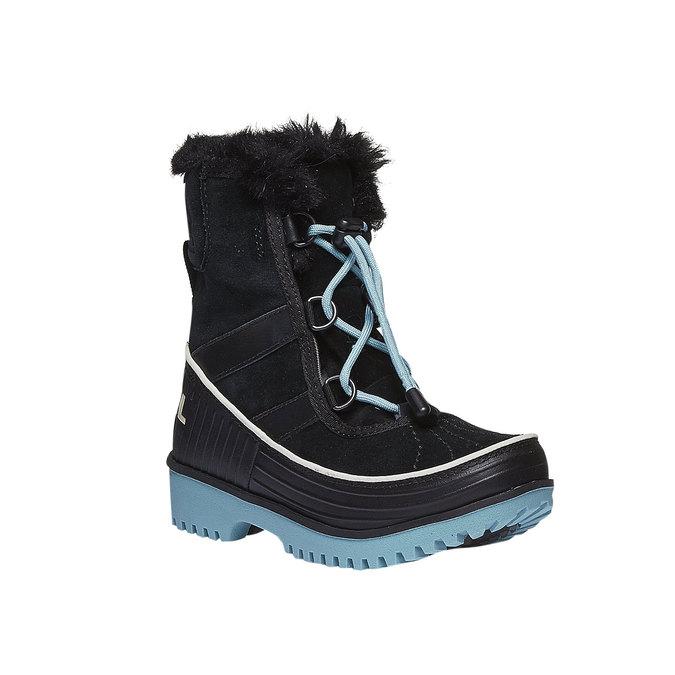 Kids shoes sorel, černá, 493-6006 - 13