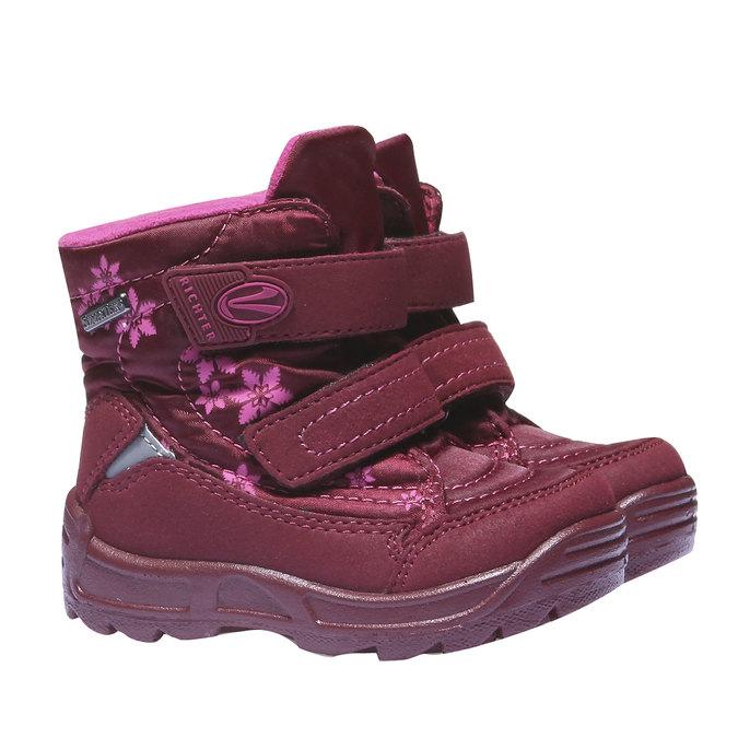 Dětská kotníčková obuv richter, červená, 199-5004 - 26