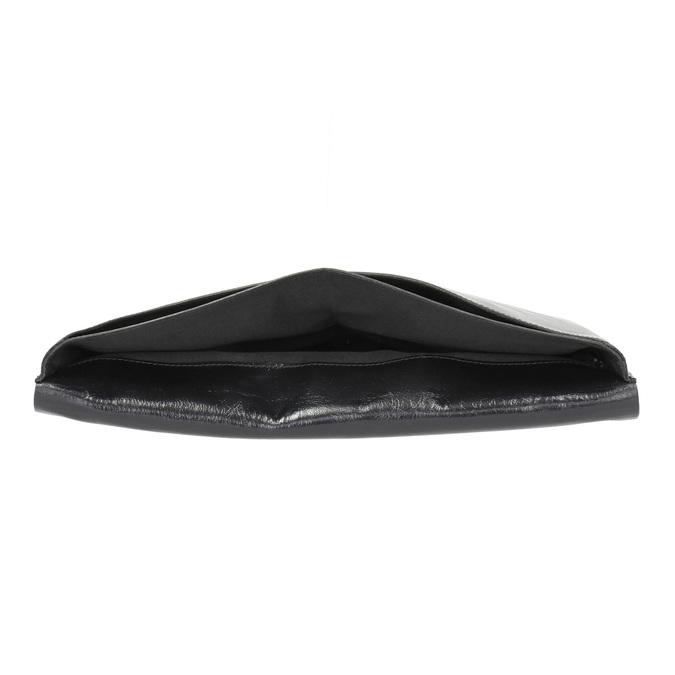 Taška na dokumenty kožená royal-republiq, černá, 964-6009 - 15