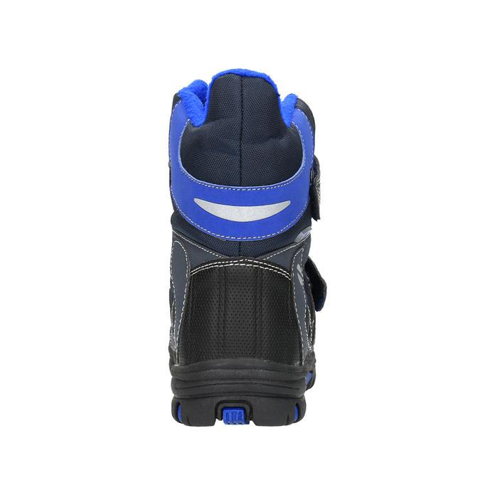 Dětská zimní obuv mini-b, šedá, 291-2601 - 17
