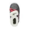 Dětská zimní obuv se srdíčky bubblegummer, šedá, 199-2600 - 19