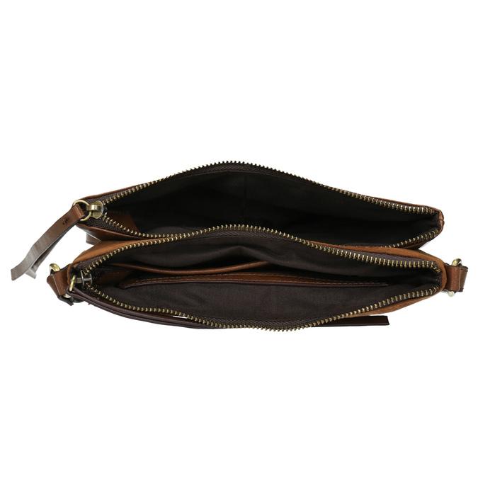 Dámská Crossbody kabelka hnědá bata, hnědá, 969-3458 - 15