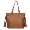 Dámská kabelka v Etno stylu bata, hnědá, 961-3669 - 26
