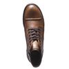 Ležérní kožená obuv bata, hnědá, 894-3555 - 19