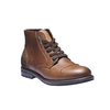 Ležérní kožená obuv bata, hnědá, 894-3555 - 13