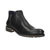 Pánská obuv ve výšce ke kotníkům bata, černá, 894-6656 - 13