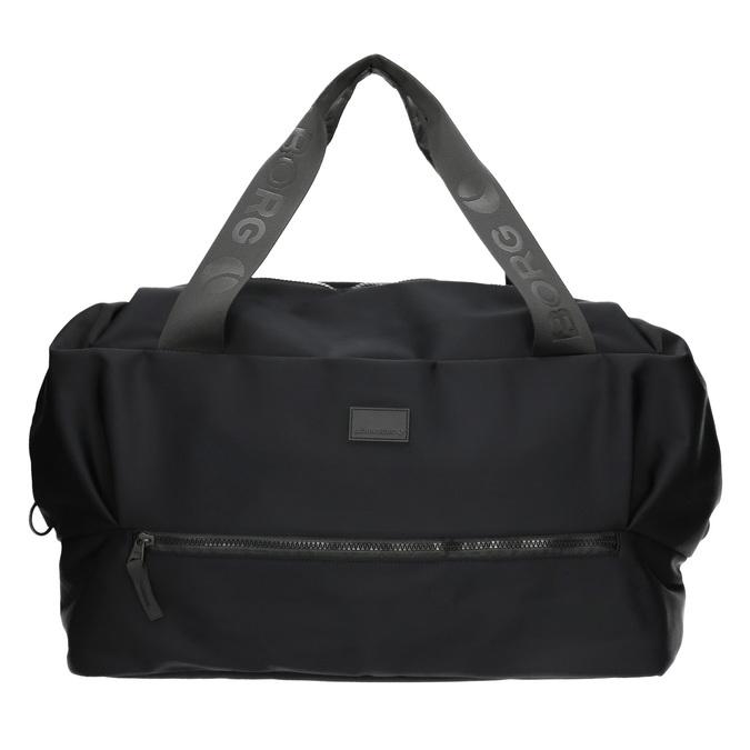 Textilní cestovní taška bjorn-borg, černá, 969-6035 - 19