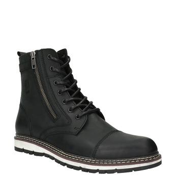 Pánská obuv ke kotníkům bata, černá, 896-6641 - 13
