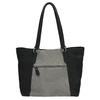 Dámská kožená kabelka bata, černá, 966-6200 - 26