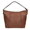 Kožená kabelka v Hobo stylu bata, hnědá, 964-3206 - 19