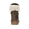 Dámská kožená zimní obuv manas, hnědá, 596-4602 - 17