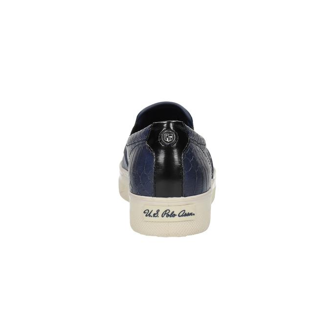 Dámská obuv ve stylu Slip-on u-s-polo-assn-, modrá, 511-9071 - 17