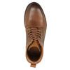 Kotníčková obuv v Ombré stylu bata, hnědá, 896-3647 - 19