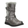 Stříbrné dětské kozačky mini-b, šedá, 291-2155 - 13