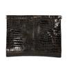 Kožené psaníčko s krokodýlím vzorem vagabond, hnědá, 966-4002 - 26