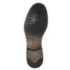 Kožené Chelsea Boots s prodyšnou podešví geox, šedá, 813-8030 - 26