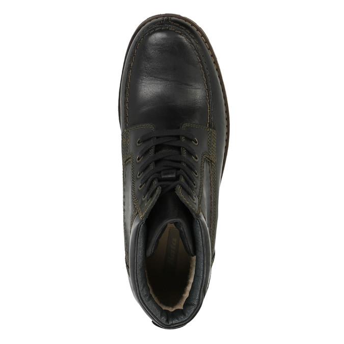 Pánská zimní obuv bata, černá, 896-6640 - 19