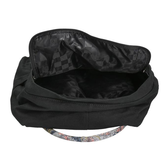 Batoh s barevným potiskem vans, černá, 969-6014 - 15