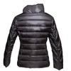 Dámská bunda s asymetrickým zapínáním bata, černá, 979-6638 - 26