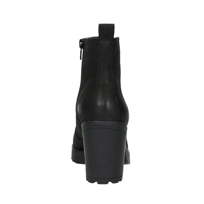 Dámská kotníčková obuv vagabond, černá, 796-6002 - 17