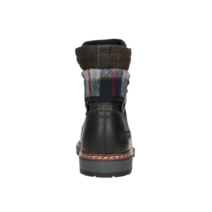 Pánská zimní obuv kotníčková bata, šedá, 896-2650 - 17