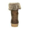Kožená zimní obuv s kožíškem weinbrenner, hnědá, 596-4633 - 17