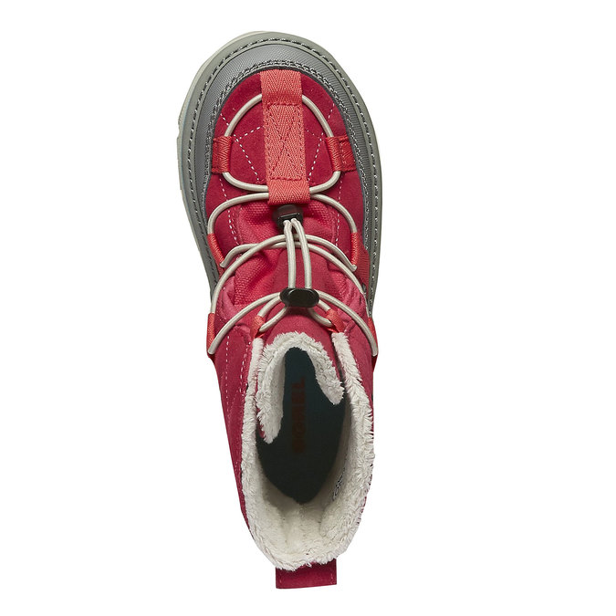 Kids shoes sorel, červená, 399-5014 - 19