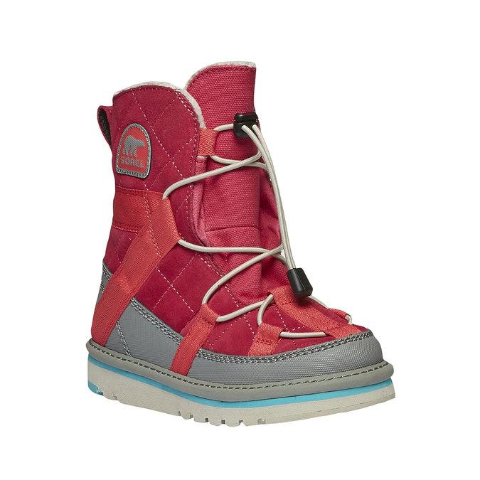 Kids shoes sorel, červená, 399-5014 - 13