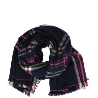 Tmavý šátek s potiskem joules, fialová, 929-9013 - 13