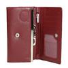 Dámská kožená peněženka bata, červená, 944-5357 - 15