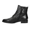 Kožená kotníčková obuv šněrovací gabor, černá, 694-6016 - 26