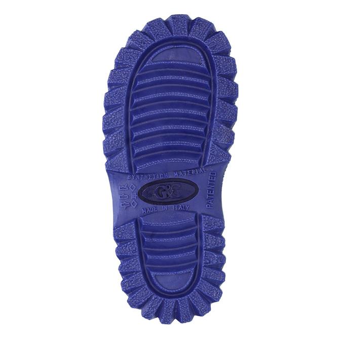 Dětská zimní obuv se zateplením mini-b, modrá, 292-9201 - 26