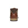 Hnědé kožené polobotky bata, hnědá, 826-3735 - 17