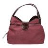 Vínová kabelka s lakovanými detaily bata, fialová, 969-5209 - 26