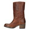 Kožené kozačky ve Western stylu bata, hnědá, 696-3607 - 19