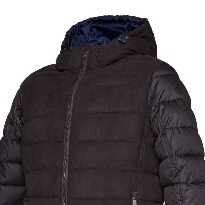 Pánská bunda s prošíváním bata, hnědá, 979-4629 - 16