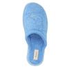 Dámská domácí obuv modrá bata, modrá, 579-9610 - 19
