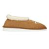 Domácí pantofle s umělým kožíškem bata, hnědá, 579-8612 - 15