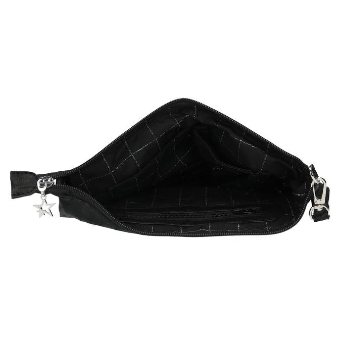 Černé dámské psaníčko bata, černá, 969-6631 - 15