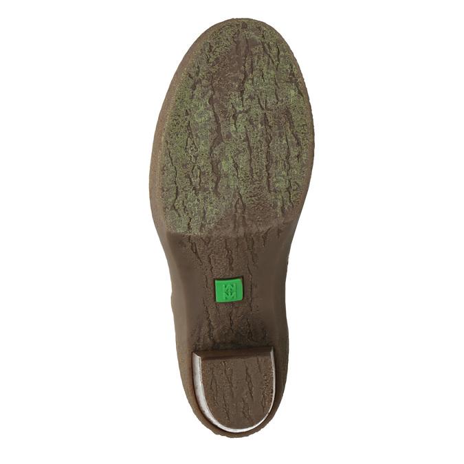 Kotníčková obuv na stabilním podpatku el-naturalista, modrá, 724-9045 - 26