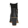 Dámská kotníčková obuv el-naturalista, černá, 714-6041 - 17
