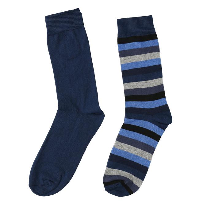 Pánské ponožky 2 páry bata, modrá, 919-9411 - 26