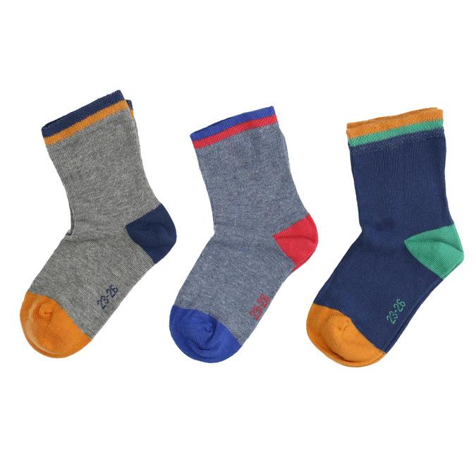 Dětské ponožky 3 páry bata, 919-0590 - 26